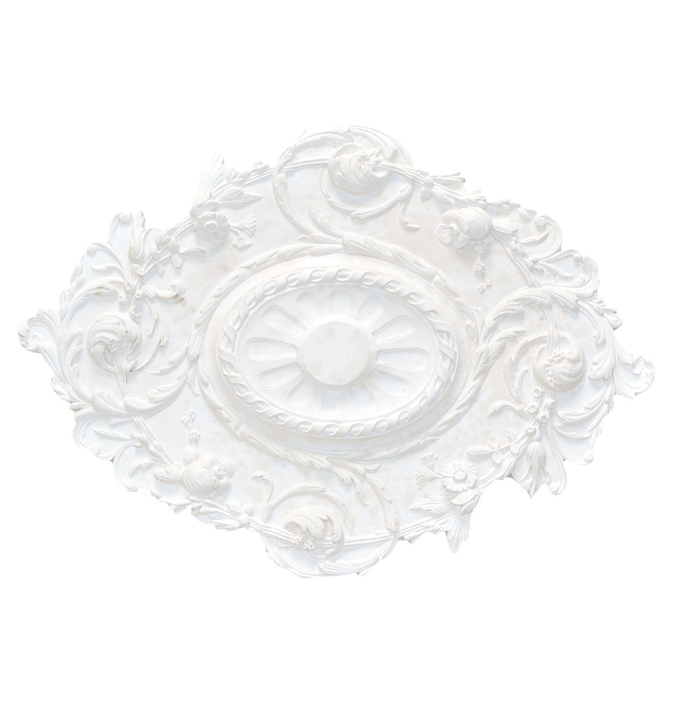 Large Oval Plaster Ceiling Rose 825mm By 590mm